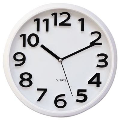 Universal 10456 Contemporary Round Wall Clock