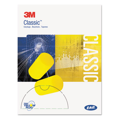 3M 3101103 EAR Classic Small Earplugs in Pillow Paks