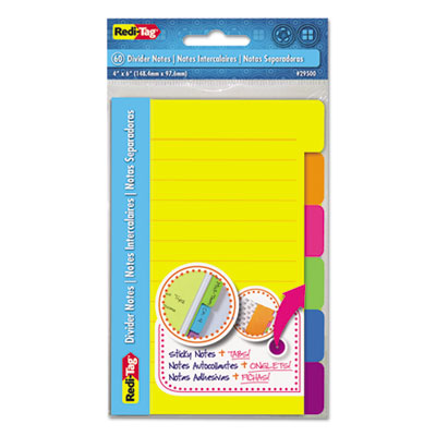 Redi-Tag 29500 Index Sticky Notes