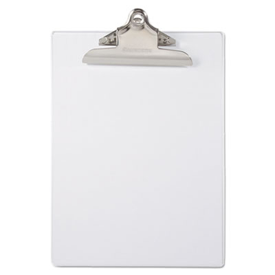 Saunders 21803 Recycled Plastic Clipboard with Ruler Edge