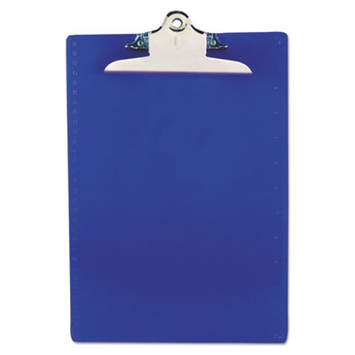 Saunders 21602 Recycled Plastic Clipboard with Ruler Edge