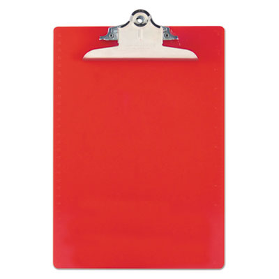 Saunders 21601 Recycled Plastic Clipboard with Ruler Edge