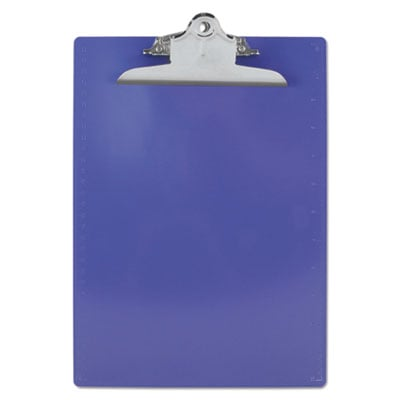Saunders 21606 Recycled Plastic Clipboard with Ruler Edge