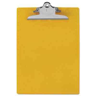 Saunders 21605 Recycled Plastic Clipboard with Ruler Edge