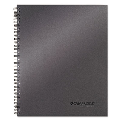 Mead 06328 Cambridge Wirebound Guided Business Notebook
