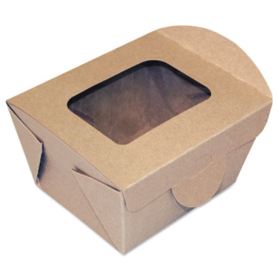 Dixie FF4X3X3 Windowed Food Container