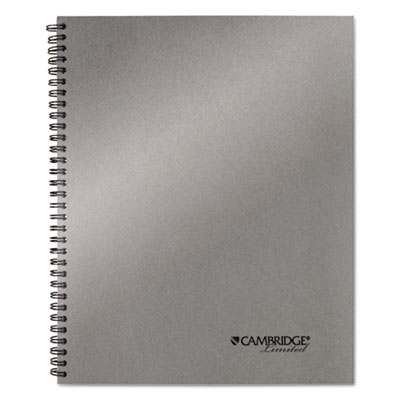 Mead 06327 Cambridge Wirebound Guided Business Notebook