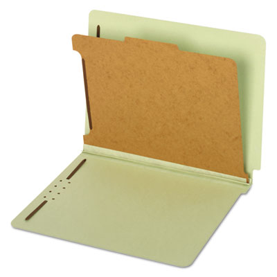 Cardinal Brands 23214 Globe-Weis Heavy-Duty Pressboard End Tab Classification Folders