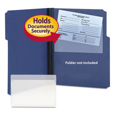 Smead 68185 Self-Adhesive Poly Pockets