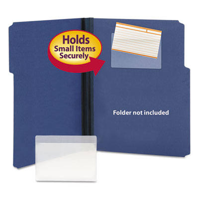 Smead 68153 Self-Adhesive Poly Pockets