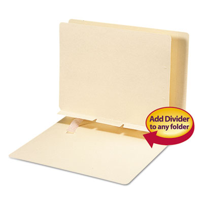 Smead 68021 Self-Adhesive Folder Dividers for Top/End Tab Folders