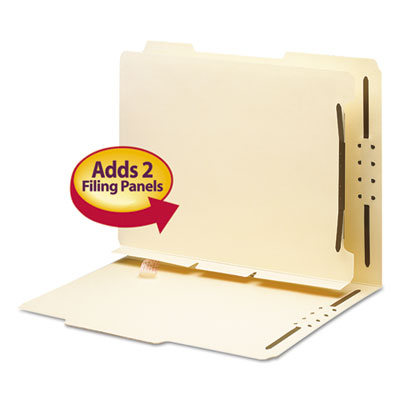 Smead 68025 Self-Adhesive Folder Dividers for Top/End Tab Folders