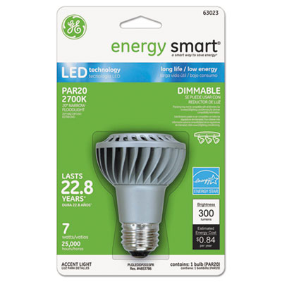 GE 63023 energy smart Dimmable LED Bulb