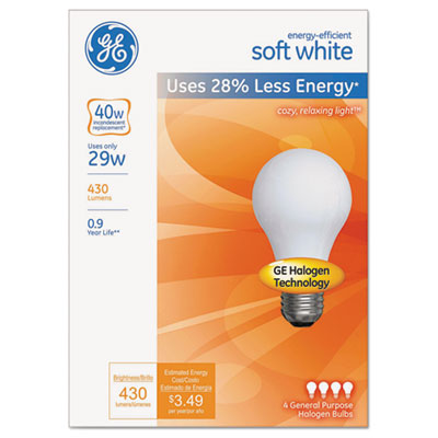 GE 66246 Energy-Efficient Halogen Bulb