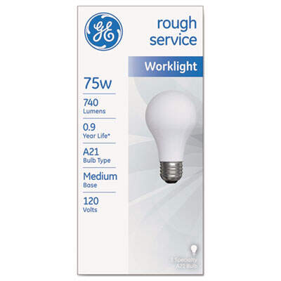 GE 18274 Rough Service Incandescent Worklight Bulb