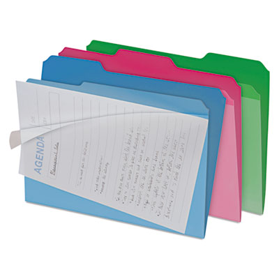 Snap-N-Store FT07187 find It Clear View Interior File Folders