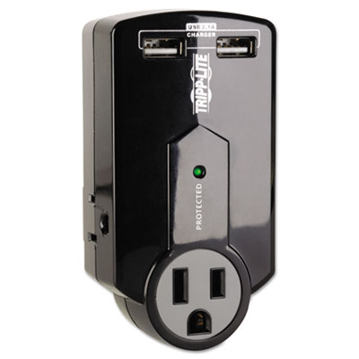 Tripplite SK120USB Tripp Lite Travel Surge with USB Charging Ports