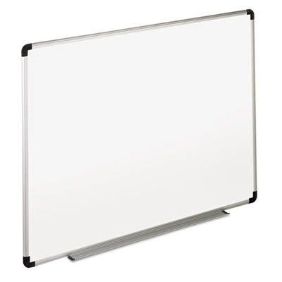 Universal 43725 Deluxe Melamine Dry Erase Board with Aluminum Frame
