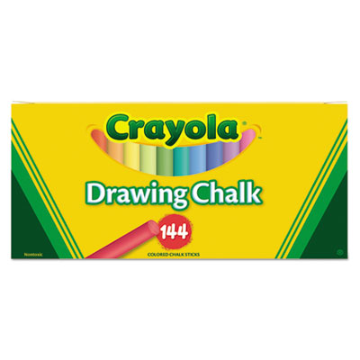 Binney &  Smith 510400 Crayola Colored Drawing Chalk