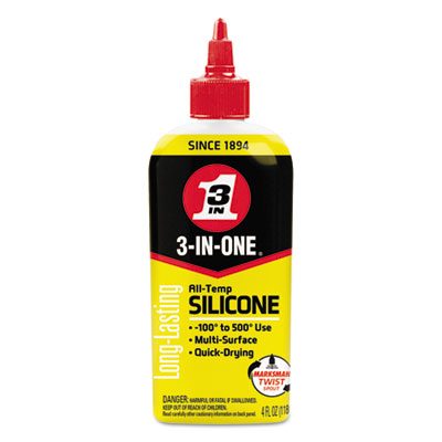 WD-40 120008 3-IN-ONE Professional Silicone Lubricant