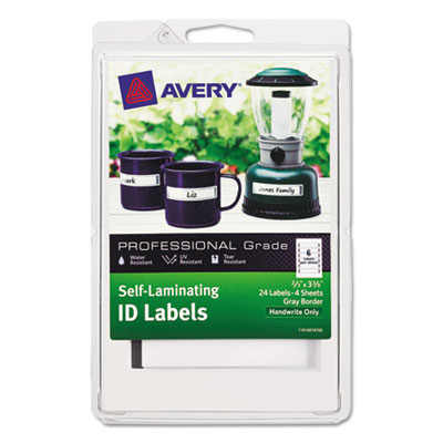 Avery 00747 Labels