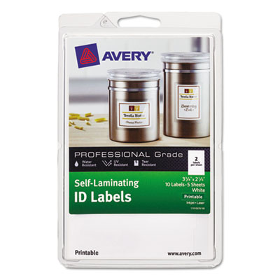 Avery 00761 Labels