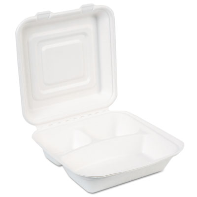 Dixie ES9CSCOMP EcoSmart Molded Fiber Food Containers