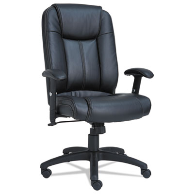 Alera CC4119 CC Executive High-Back Swivel/Tilt Leather Chair