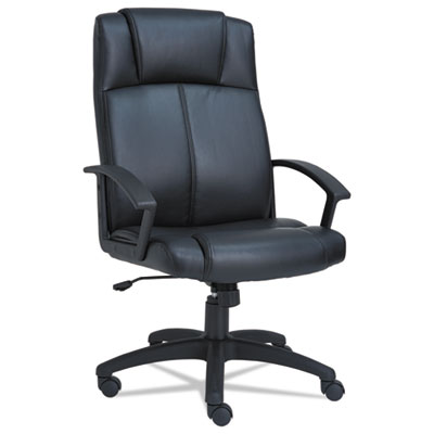 Alera CL4119 CL High-Back Leather Chair