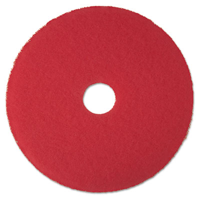 3M 08392 Red Buffer Floor Pads 5100