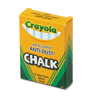 Binney &  Smith 501402 Crayola Anti-Dust Chalk