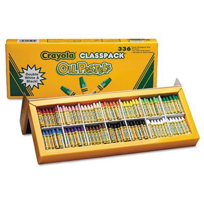 Binney &  Smith 524629 Crayola Oil Pastels