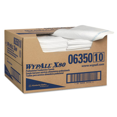 WypAll 06350 WypAll X80 Foodservice Towels