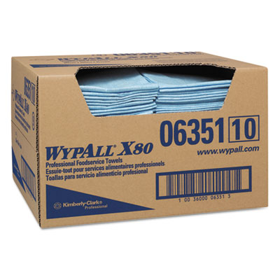 WypAll 06351 WypAll X80 Foodservice Towels