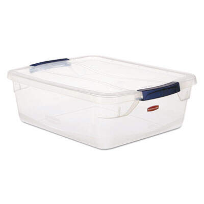 Rubbermaid RMCC150001 Clever Store Basic Latch-Lid Container