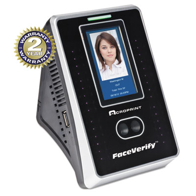 Acroprint 010272000 timeQplus FaceVerify System