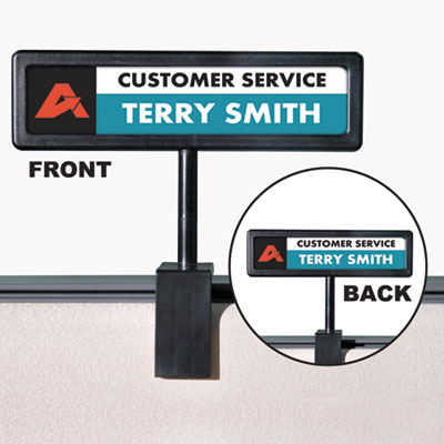 Advantus 75334 People Pointer Cubicle Sign