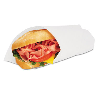 Bagcraft 057014 Grease-Resistant Paper Wrap/Liners