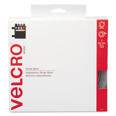 Velcro Usa 91138 Velcro Sticky-Back Hook &  Loop Fasteners