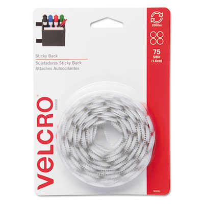 Velcro Usa 90090 Velcro Sticky-Back Hook &  Loop Fasteners
