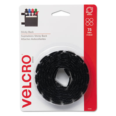 Velcro Usa 90089 Velcro Sticky-Back Hook &  Loop Fasteners