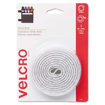 Velcro Usa 90087 Velcro Sticky-Back Hook &  Loop Fasteners