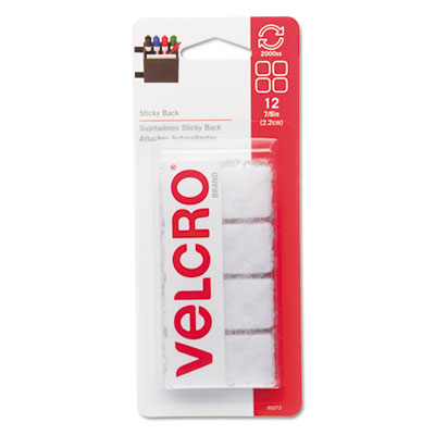 Velcro Usa 90073 Velcro Sticky-Back Hook &  Loop Fasteners