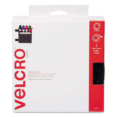 Velcro Usa 90081 Velcro Sticky-Back Hook &  Loop Fasteners