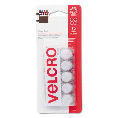Velcro Usa 90070 Velcro Sticky-Back Hook &  Loop Fasteners
