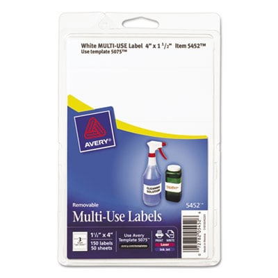 Avery 05452 Labels