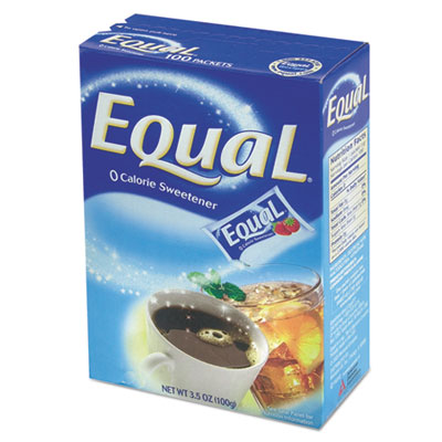 Equal 20015445CT Zero Calorie Sweetener