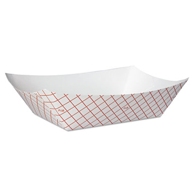 Dixie RP3008 Kant Leek Polycoated Paper Food Tray
