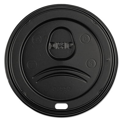 Dixie D9550B Sip-Through Dome Hot Drink Lids