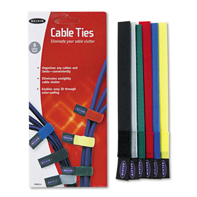 Belkin F8B024 Multicolored Cable Ties